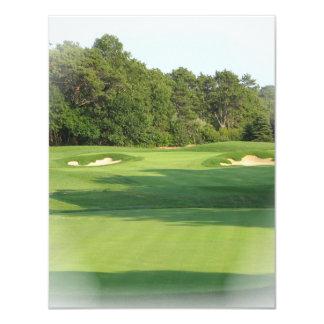 Invitación del campo de golf