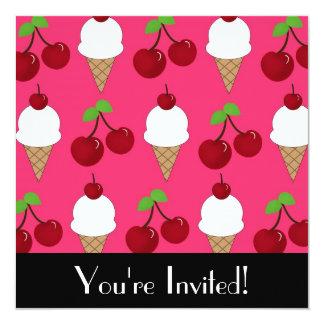 Invitación del caramelo y de los dulces