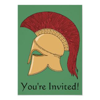 Invitación del casco del Corinthian