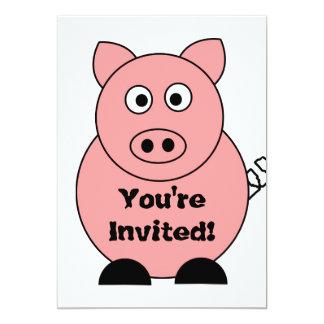 Invitación del cerdo