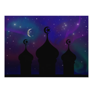 Invitación del cielo nocturno del Ramadán