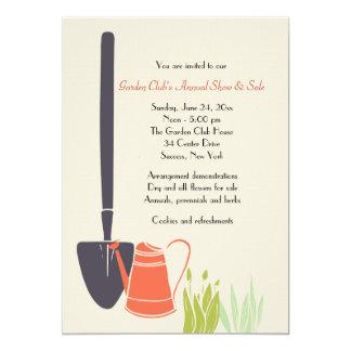 Invitación del club del jardín