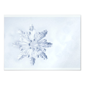 Invitación del copo de nieve