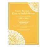 Invitación del crisantemo - oro