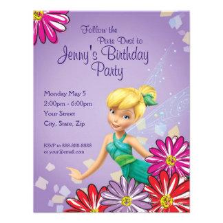 Invitación del cumpleaños de Bell del chapucero
