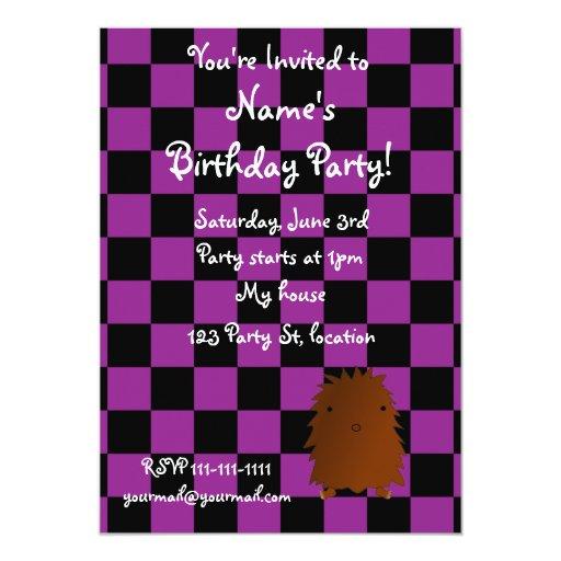 Invitación del cumpleaños de Bigfoot