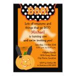 Invitación del cumpleaños de Halloween Invitación 12,7 X 17,8 Cm