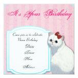Invitación del cumpleaños de Hello Kitty