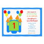 Invitación del cumpleaños de la casa de la despedi