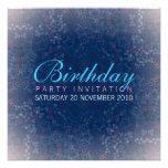 Invitación del cumpleaños de la ducha de la estrel