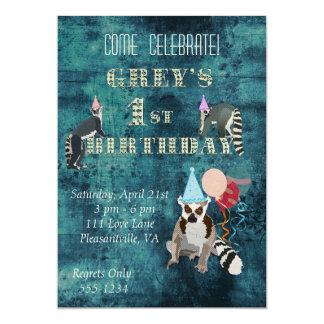 Invitación del cumpleaños de la marina de guerra