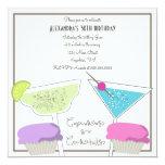 Invitación del cumpleaños de las magdalenas y de