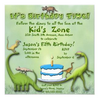 Invitación del cumpleaños de los amigos del