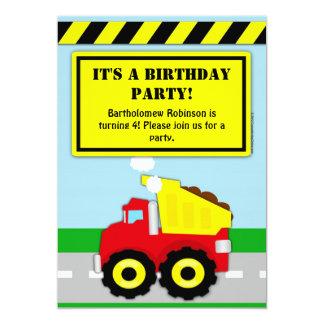 Invitación del cumpleaños de los muchachos de