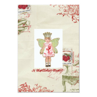 Invitación del cumpleaños del ángel