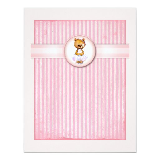 Invitación del cumpleaños del caramelo del rosa