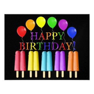 Invitación del cumpleaños - SRF