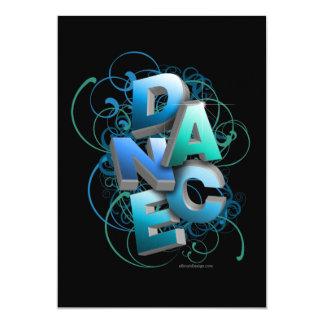 invitación del decreto de la danza 3D (primavera)