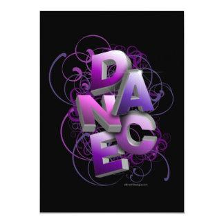 invitación del decreto de la danza 3D (verano)