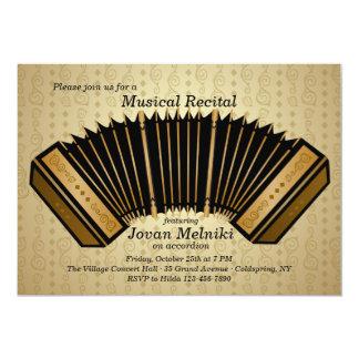 Invitación del decreto de la música del acordeón