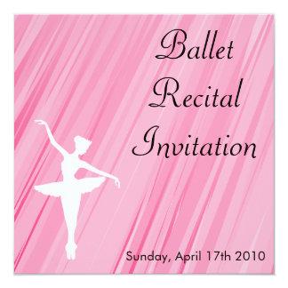 Invitación del decreto del ballet