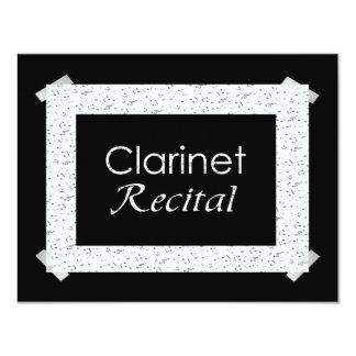Invitación del decreto del Clarinet