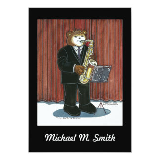Invitación del decreto - saxofón
