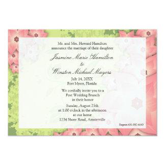 Invitación del deseo invitación 12,7 x 17,8 cm