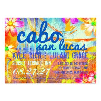Invitación del destino de CABO SAN LUCAS