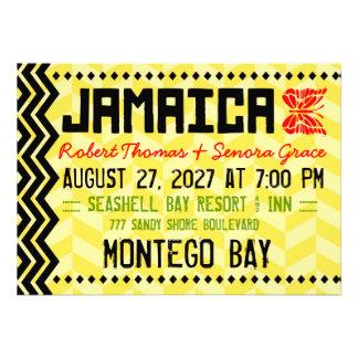 Invitación del destino de JAMAICA