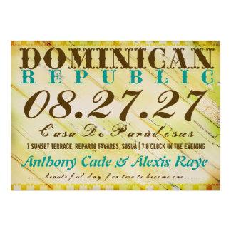 Invitación del destino de la REPÚBLICA DOMINICANA