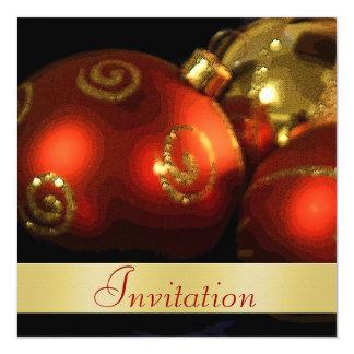 Invitación del día de fiesta del navidad de las