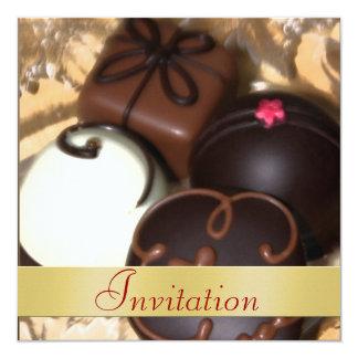 Invitación del día de fiesta del navidad del