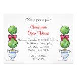 Invitación del día de fiesta del Topiary