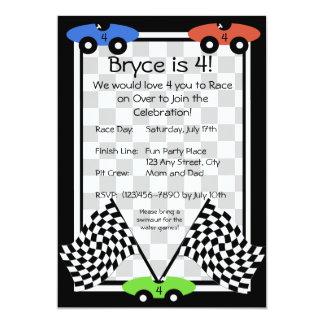 Invitación del día de la raza