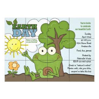 Invitación del Día de la Tierra