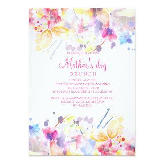 Invitación del día de madre de la sinfonía de la