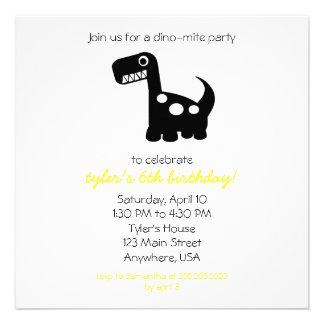invitación del Dino-ácaro