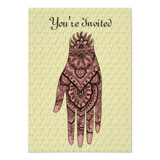 Invitación del diseño del arte del tatuaje de la