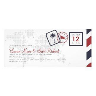 Invitación del documento de embarque de la línea a
