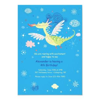Invitación del dragón de vuelo
