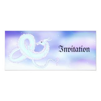 Invitación del dragón del aire invitación 10,1 x 23,5 cm