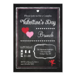 Invitación del el día de San Valentín de la Invitación 12,7 X 17,8 Cm
