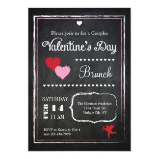 Invitación del el día de San Valentín de la
