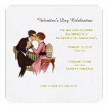 Invitación del el día de San Valentín de los
