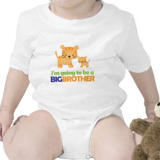Invitación del embarazo de la camiseta del tigre d