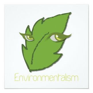Invitación del Environmentalism