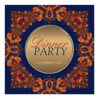 Invitación del este del fiesta de cena de la tribu invitación 13,3 cm x 13,3cm