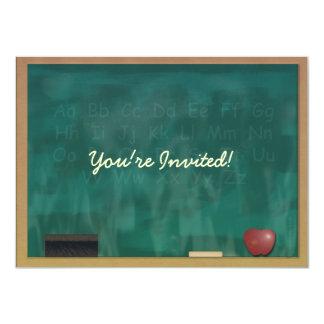 Invitación del estudiante del profesor de la