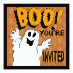 Invitación del fantasma del abucheo